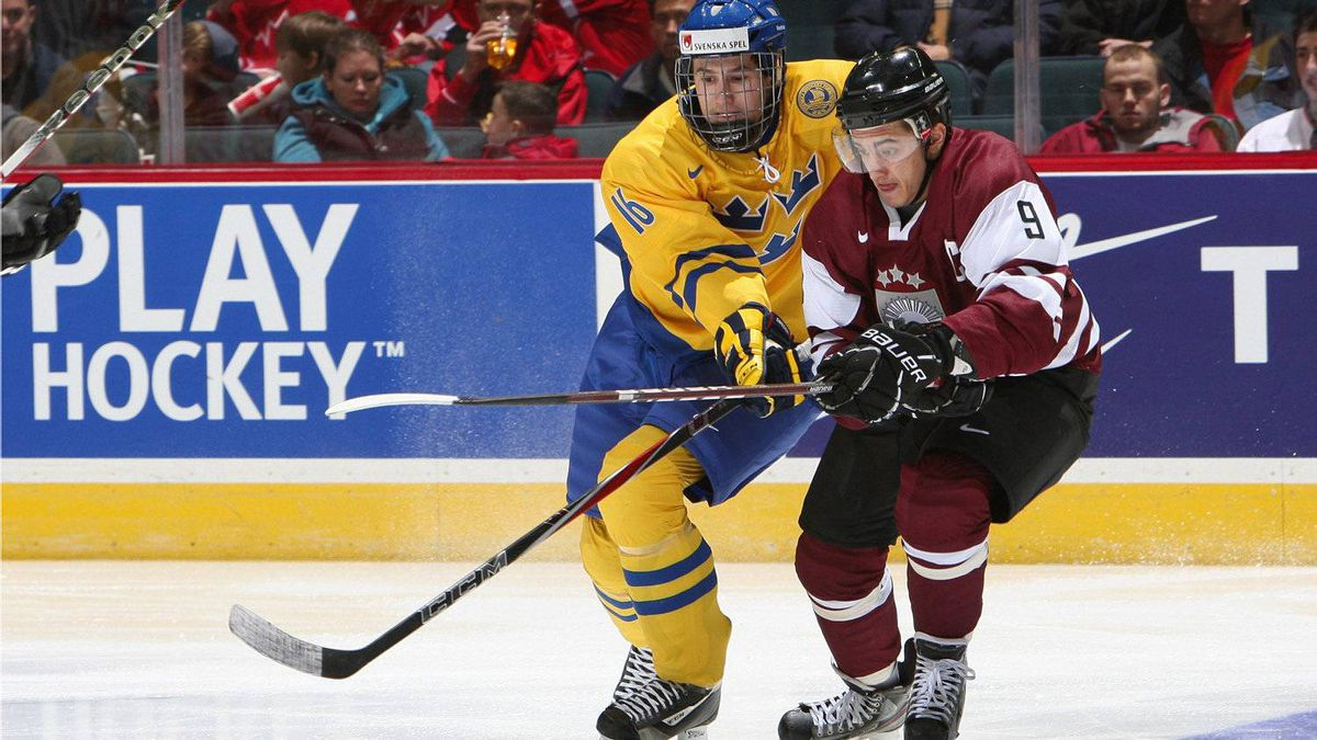 Sweden's Filip Forsberg is one of the top-ranked Europeans heading into the next NHL draft.