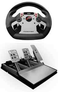 Fanatec Forza Motorsport CSR Wheel, Pedals, Shifter Set Forza Motorsport 4 is fun, but it doesn't feel like a true racing simulator until you play with a setup like this one from German gameware maker Fanatec. The wheel can be bolted to a table, the stick shifts like a dream, and you can stomp on the durable metal pedals without any fear of breakage. It's an outlandish gift for hardcore Forza fans. ($509.97; www.fanatec.de)
