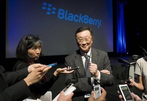 Blackberry CEO contract extended to November 2023