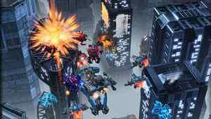 A screen shot from StarCraft II