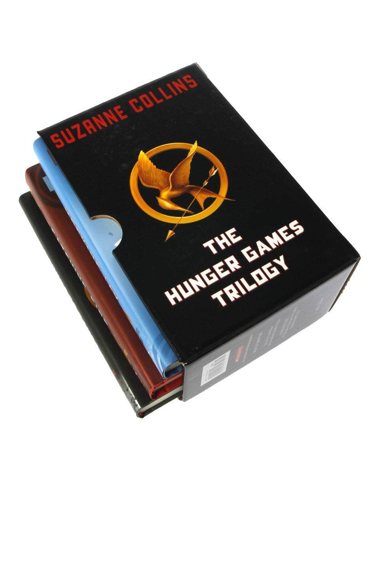 Hunger Games Boxed Set Just when you thought Suzanne Collins's Hunger Games trilogy of young-adult novels couldn't get bigger, Hollywood is swinging into action, with the first film scheduled for release this spring. For any young person (or adult) who doesn't know yet, this handsome set packages the entire phenomenon in a single box. $37.60 at amazon.ca; chapters.indigo.ca
