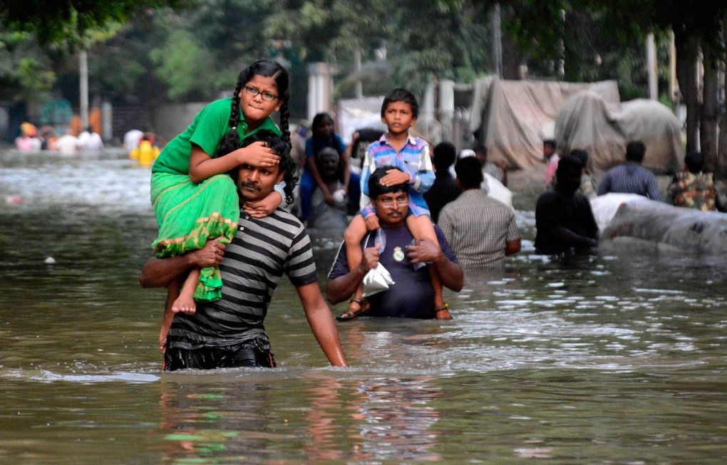 Heaviest rainfall in more than 100 years devastates Indian state