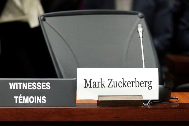 Facebook's Zuckerberg, Sandberg will not appear at Ottawa hearing despite summons