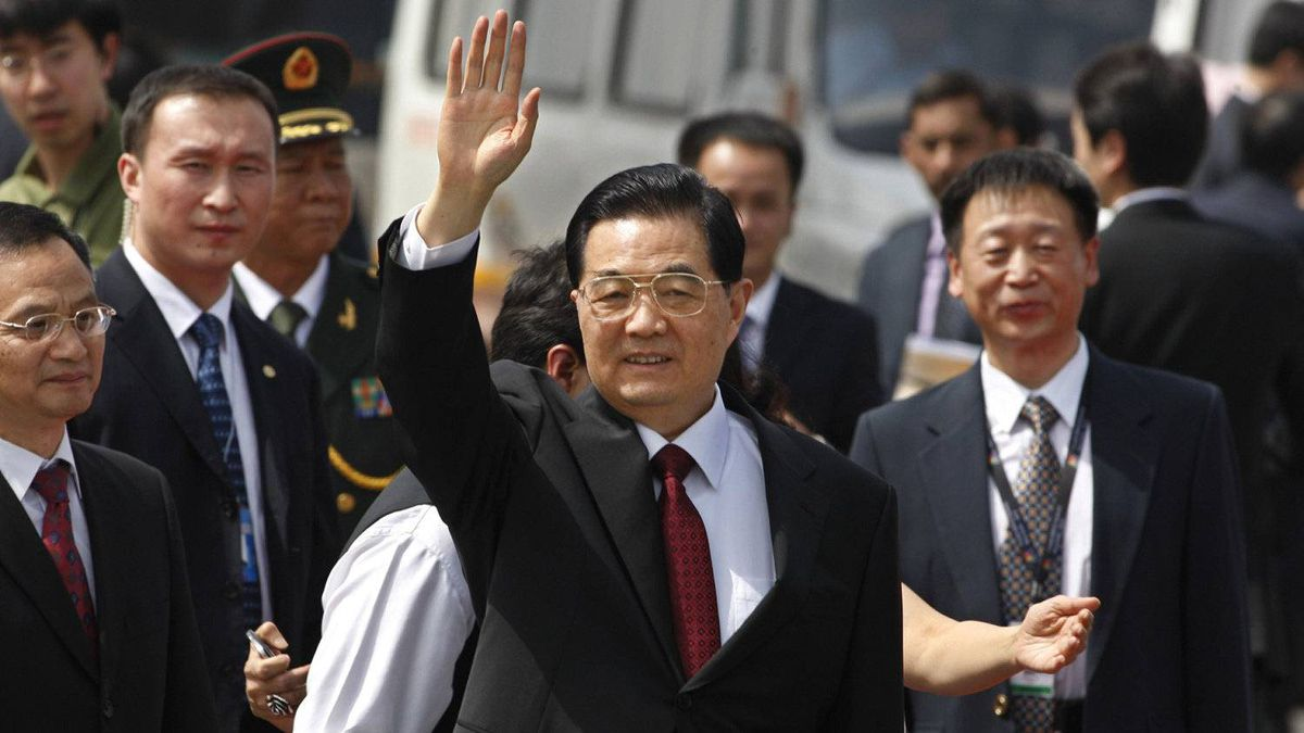 Security was tightened in the Indian capital of New Delhi on Wednesday before the arrival of BRICS leaders including China's President, Hu Jintao.