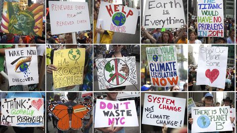 As global leaders gather for UN climate talks, protesters urge action