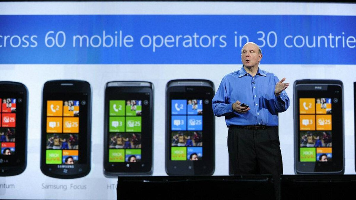 Microsoft CEO Steve Ballmer give his keynote speech at the 2011 International Consumer Electronics Show January 5, 2011 in Las Vegas, Nevada. CES, the world's largest annual consumer technology tradeshow, officially runs from January 6-9.
