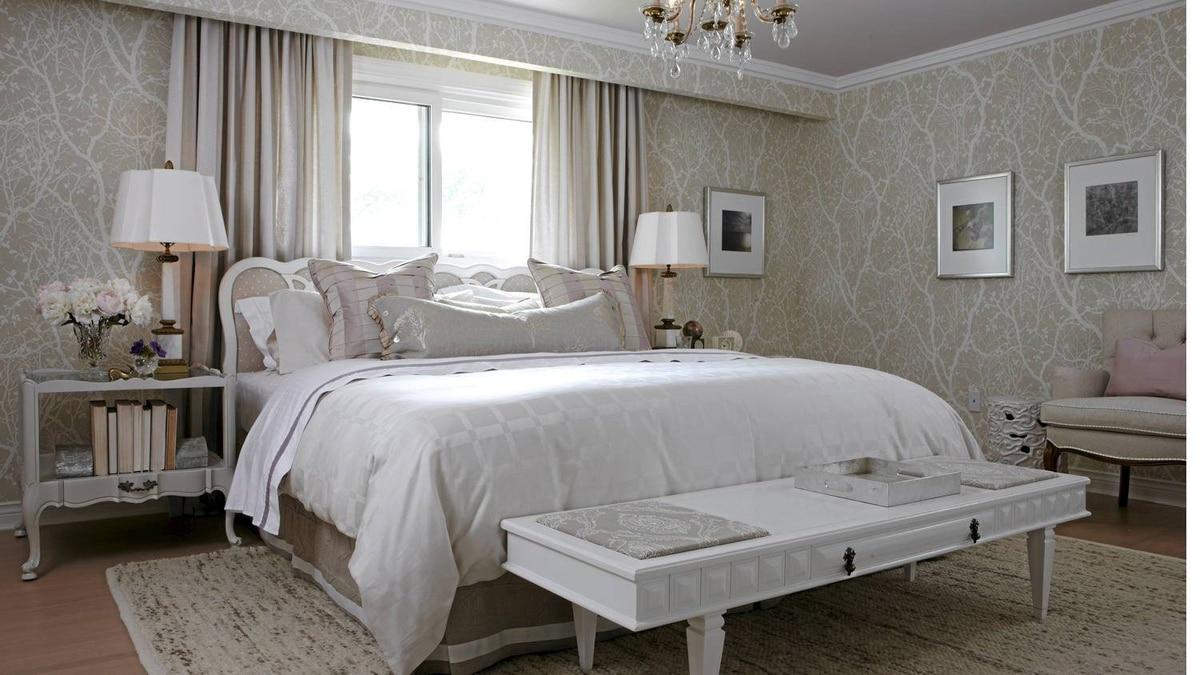 Sarah Richardson - master bedroom design.