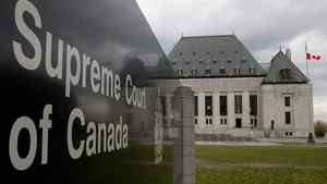The Supreme Court of Canada is seen in Ottawa, Monday October 17, 2011.
