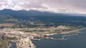 A file photo of Powell River, B.C.