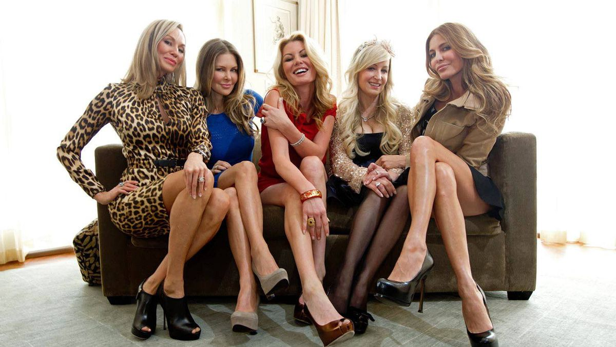 The Real Housewives of Vancouver, from left: Reiko MacKenzie, Mary Zilba, Christina Kiesel, Jody Claman and Ronnie Seterdahl.