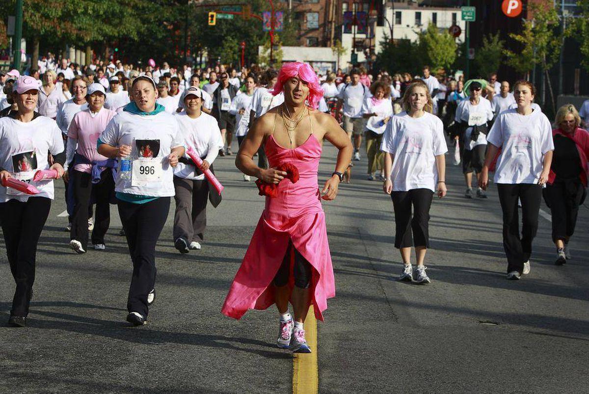 Edmonton breast cancer run