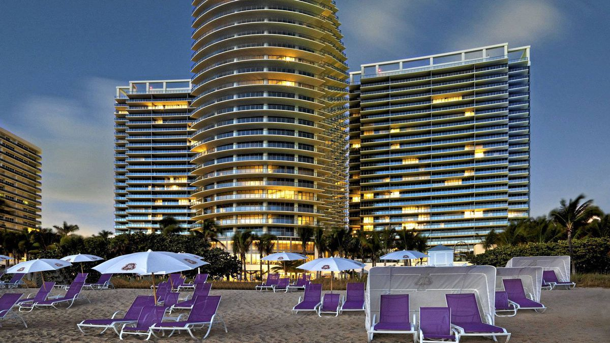 St. Regis Bal Harbour sits on one of the finest stretches of beachfront in Miami.