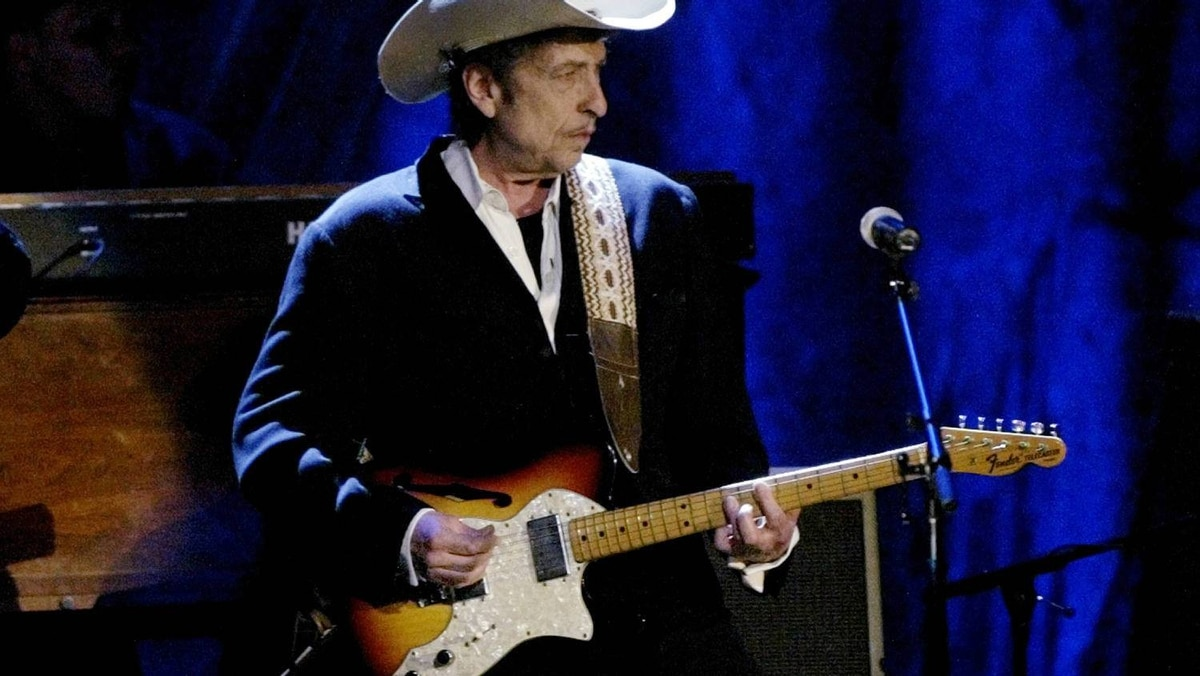 And last, but not least, Bob Dylan, shown at the Wiltern Theatre in Los Angeles in 2004.