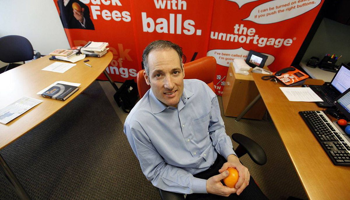 ING Direct Canada CEO Peter Aceto.