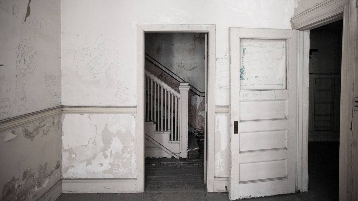 Offices on the second floor are 'creepy in a Blair Witch kind of way,' says Gary Switzer