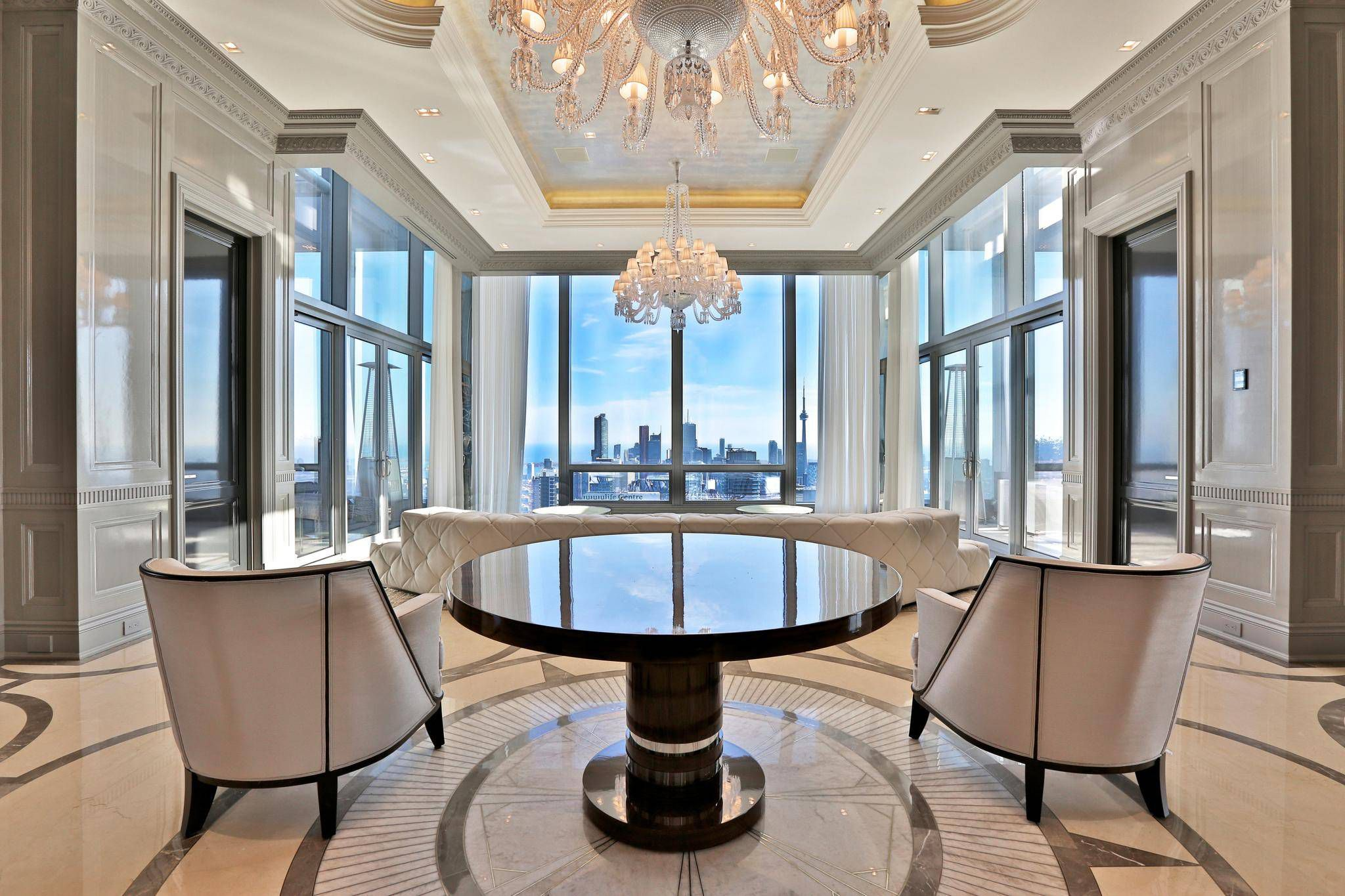 Home of the Week: A $36-million Yorkville penthouse - The Globe and Mail