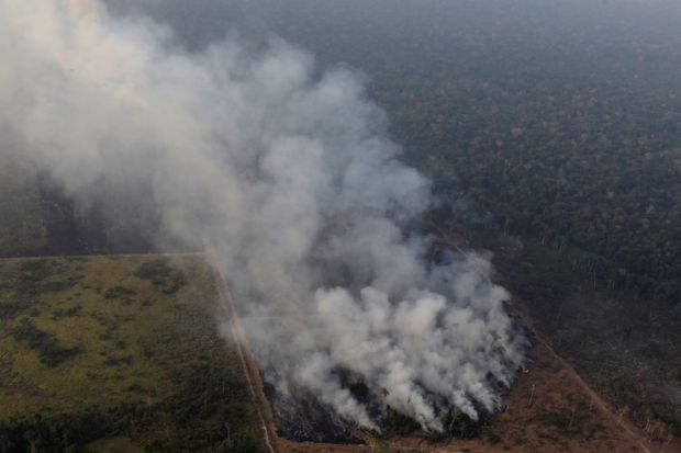 Brazil sends army to tackle infernos in Amazon following global outcry
