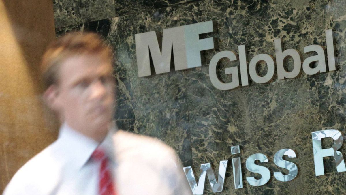 MF Global's offices in Manhattan