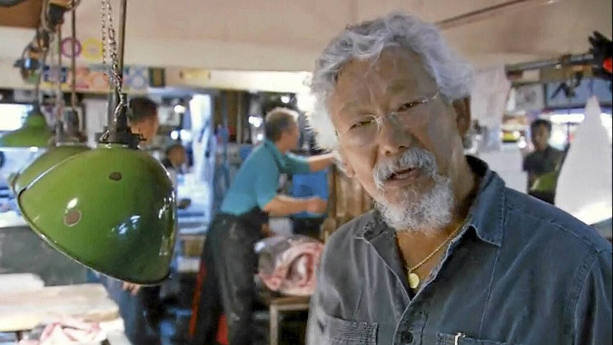 Screen shot from the NFB's Force of Nature: The David Suzuki Movie