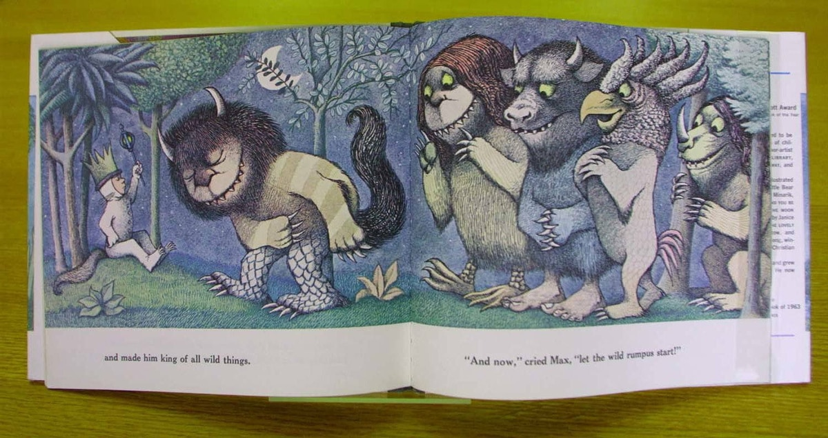 """Sendak's most famous book was """"Where the Wild Things Are"""" (1963), about a boy sent to bed without supper who goes on a wild rampage in his imagination."""
