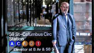 Salman Rushdie in Manhattan on Nov. 12, 2010.