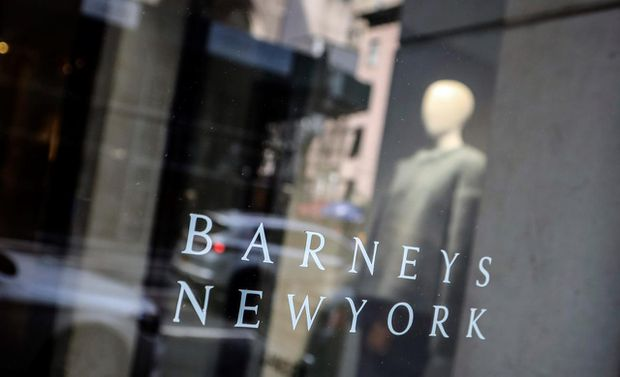 Barneys selling to Authentic Brands, B. Riley