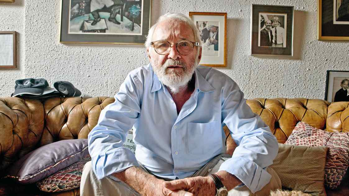 Canadian filmmaker Norman Jewison is having a retrospective of his work shown at the Toronto International Film Festival this year. He is seen in his Toronto office on July 26, 2011.