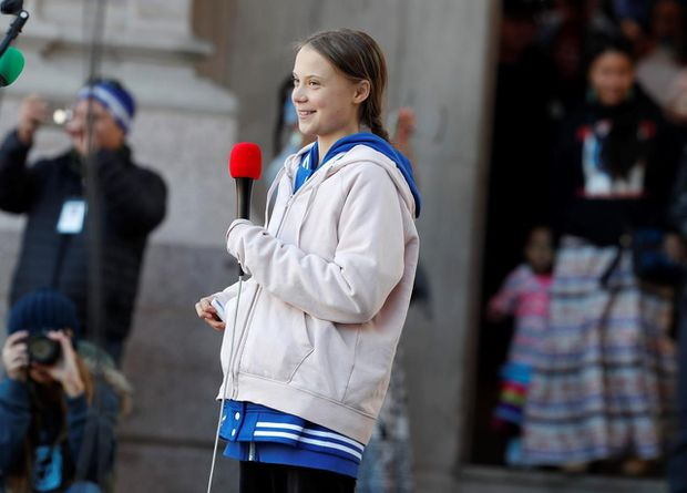 Greta Thunberg brings her international climate tour to Alberta with stop in Calgary