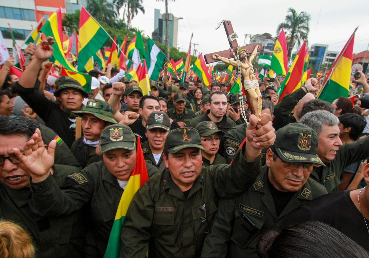 What's going on in Bolivia? A guide to Morales's exit, who's in charge and what happens now