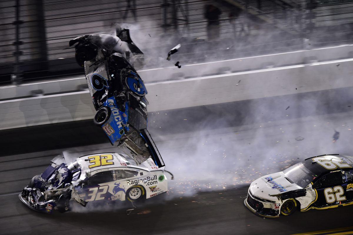 What caused Ryan Newman's terrifying crash at the Daytona 500?