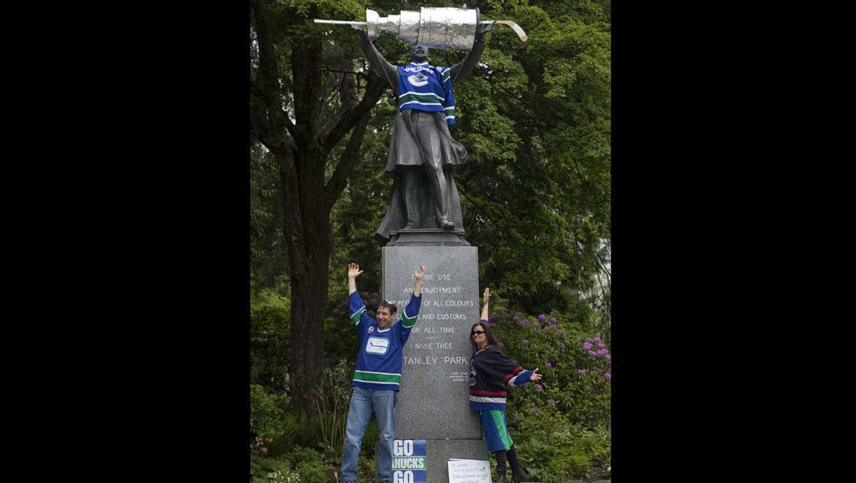 Lord Stanley purchased and donated the trophy in 1892 as an award for Canada's top-ranked amateur ice hockey team.