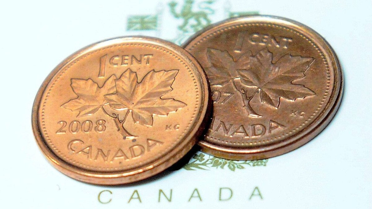 Pennies are shown in Ottawa on March 29, 2012. The humble one-cent piece is set to disappear from Canadian pockets, a victim of inflation.