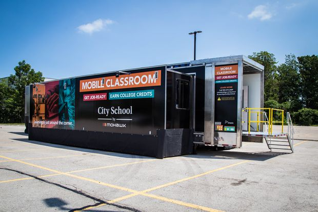 Breaking down barriers with mobile classrooms