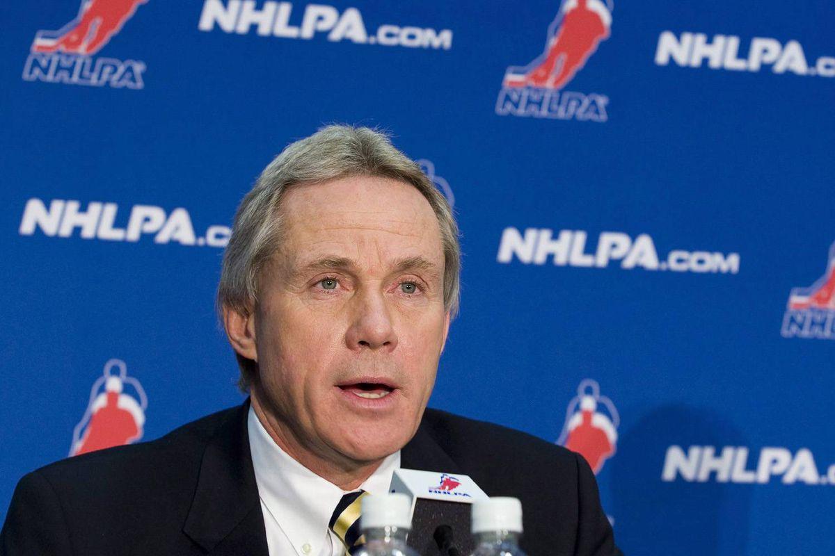 Former NHLPA executive director Paul Kelly.