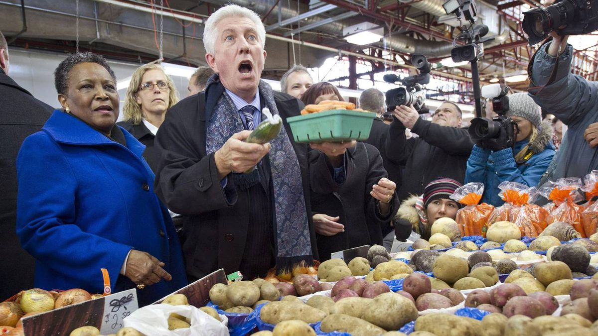 """""""Do you think I can cook up a coalition with these???"""" Edward Howell suggested this caption - our favourite - on our Facebook page. The runner-up was Gabriel Zamfir: """"English cucumber??? In Quebec? No way!!!"""""""