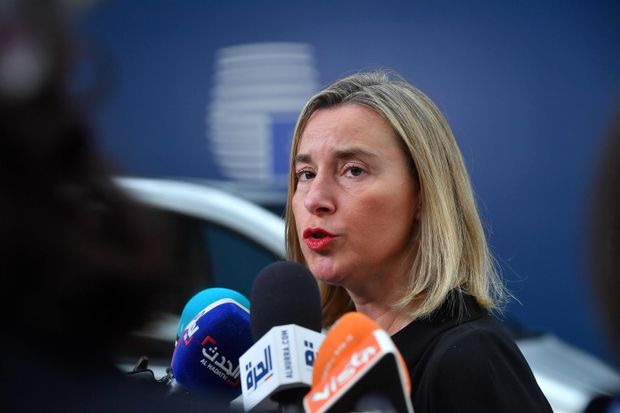 Nuclear deal parties not ready to trigger dispute mechanism against Iran, EU foreign policy chief says