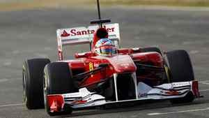 A Ferrari Formula One car