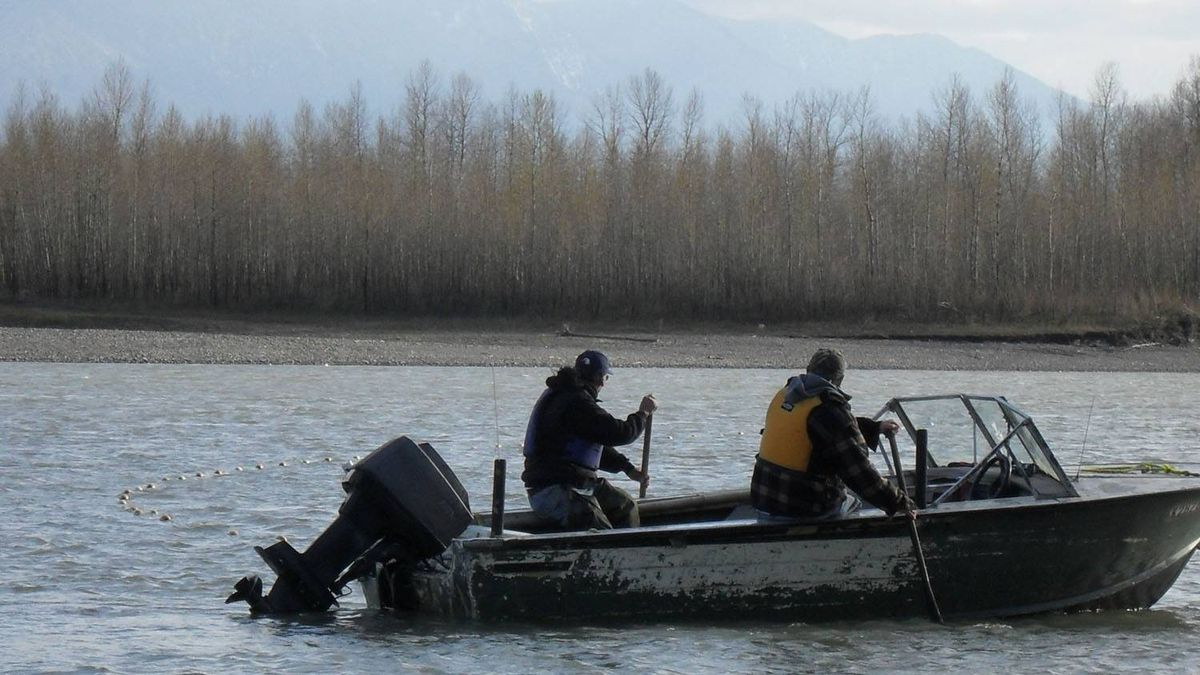 Sport fishermen take to the Fraser River near Chilliwack, B.C., in pursuit of sockeye salmon, a quest that's created tension between natives and non-natives eyeing the same areas of the river. Tony Malloway