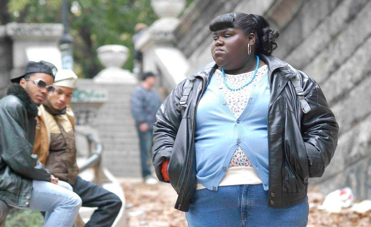 Gabourey Sidibe stars as Claireece Jones in Precious.