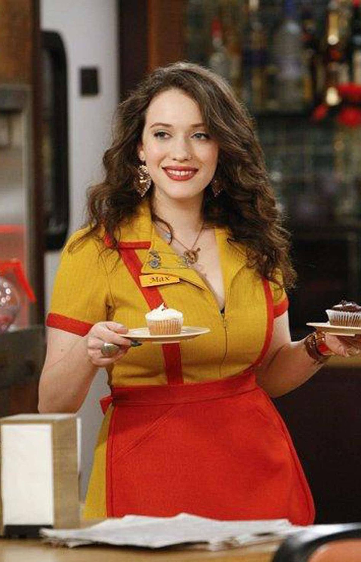 COMEDY 2 Broke Girls CBS, CITY-TV, 8 p.m. ET/PT The spirit of Laverne and Shirley lives on in this rookie sitcom, which wraps tonight. One of the few breakout hits of the past TV season, the show has held its audience all season and is already renewed for next season. Supersized to an hour for the occasion, the season finale finds the adorable best-friend waitresses Max (Kat Dennings) and Caroline (Beth Behrs) talking their way into a lavish fashion gala at the Metropolitan Museum of Art. The objective: Corner the design maven Martha Stewart, who plays herself, of course, in hopes of getting her approval of their cupcake business. Former Wings regular Steven Weber guest-stars as Caroline's ne'er-do-well father.