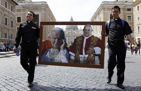 Vatican broadcasts go high-tech, high-def for canonization ceremony