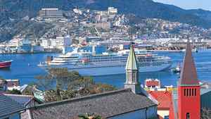 Nagasaki is one of Japan's most picturesque ports.