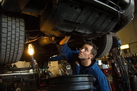 I want to repair cars. What will my salary be?