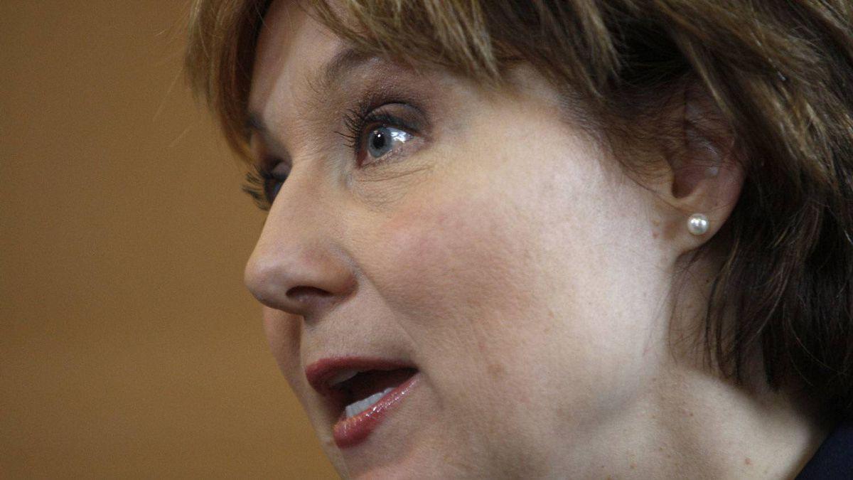 B.C. Premier Christy Clark in Victoria,BC Thursday December 15, 2011.