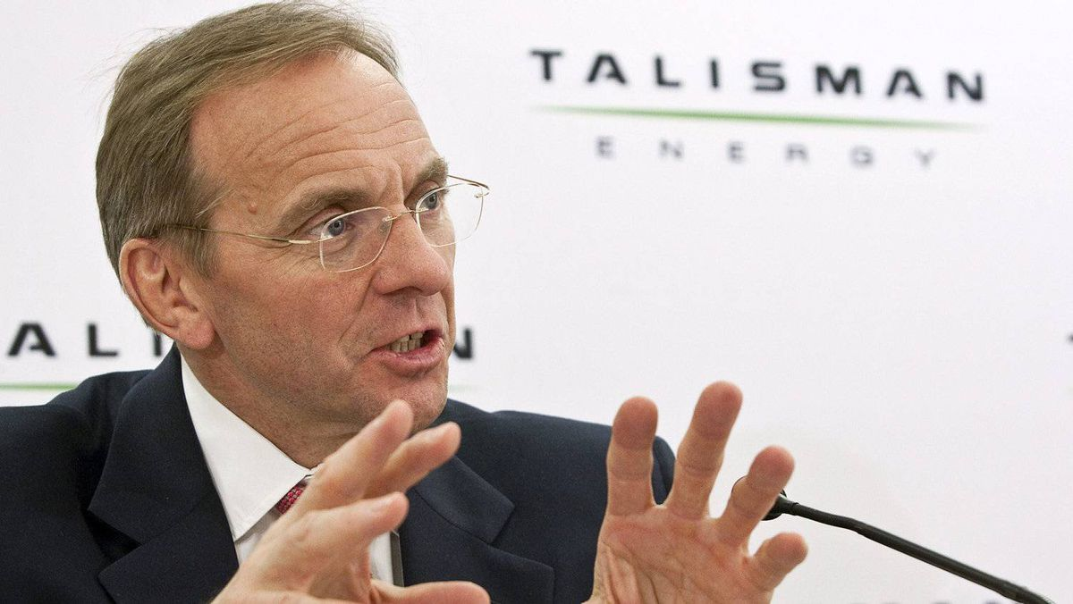 John Manzoni, president and CEO of Talisman Energy.