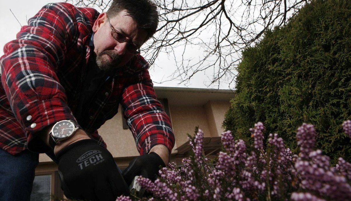 Ed Bailey, 55, has launched his own lawn-care business in Victoria after retiring from HP Advanced Solutions. In his last six months with HP, the firm allowed him to mentor others and plan his next step.