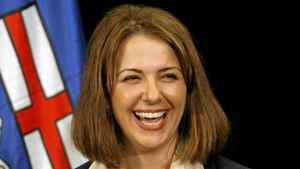 Wildrose Alliance Party Leader Danielle Smith.