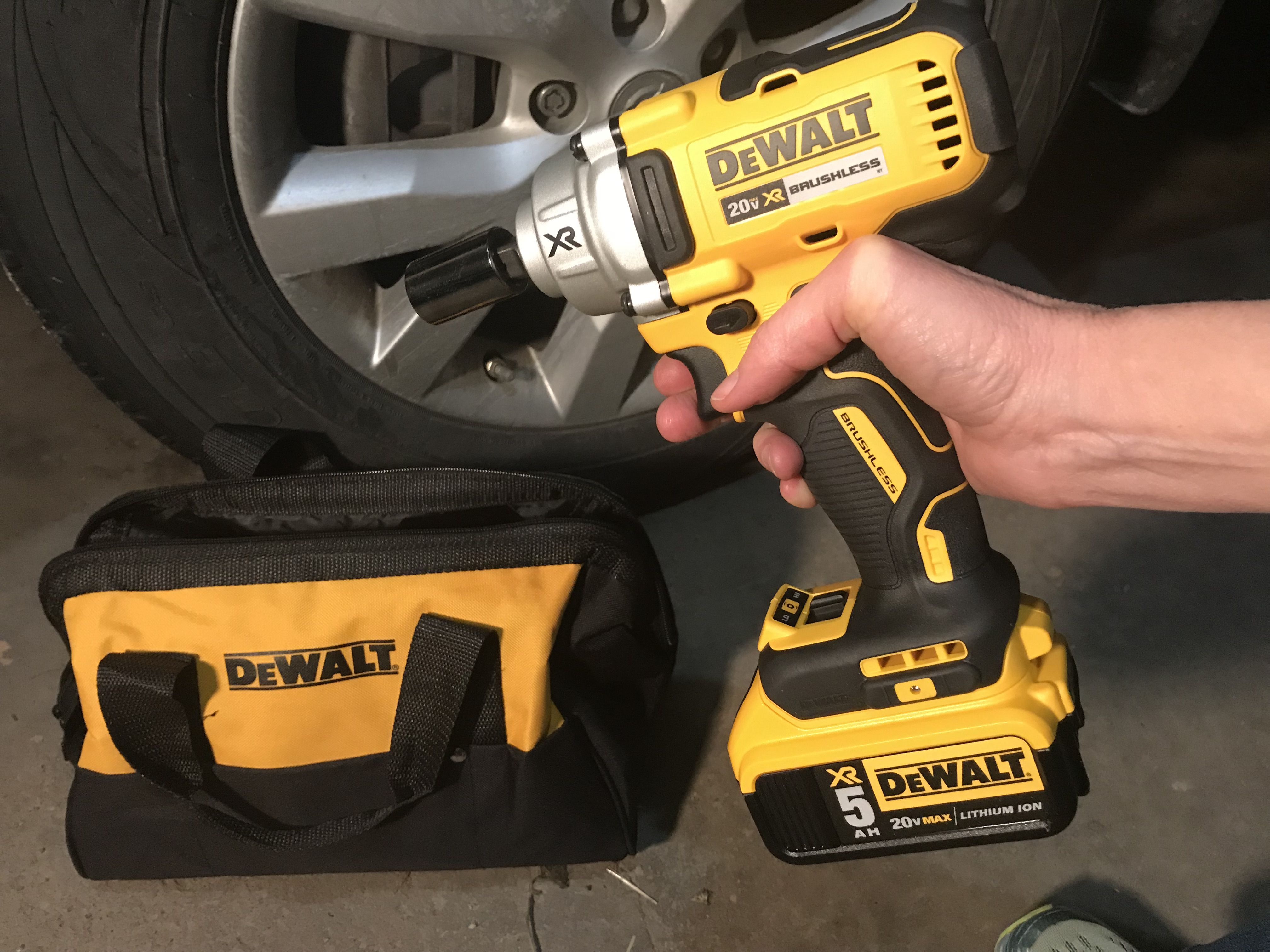 This DeWalt impact wrench can make your pit-crew dreams a reality