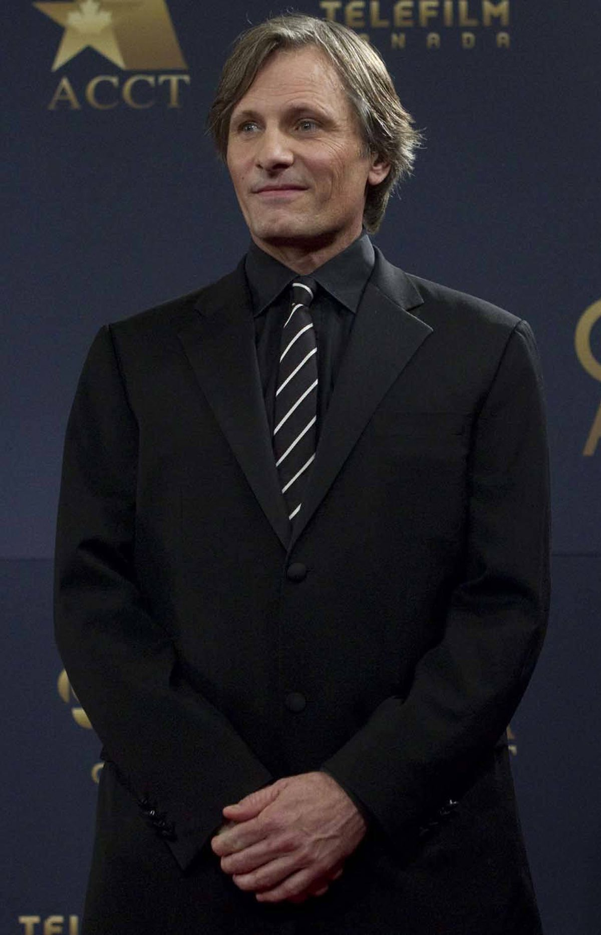 International A-list actor Viggo Mortensen, seen here at the Genie Awards in Toronto last week, wonders what the hell he's doing at the Genie Awards in Toronto last week.