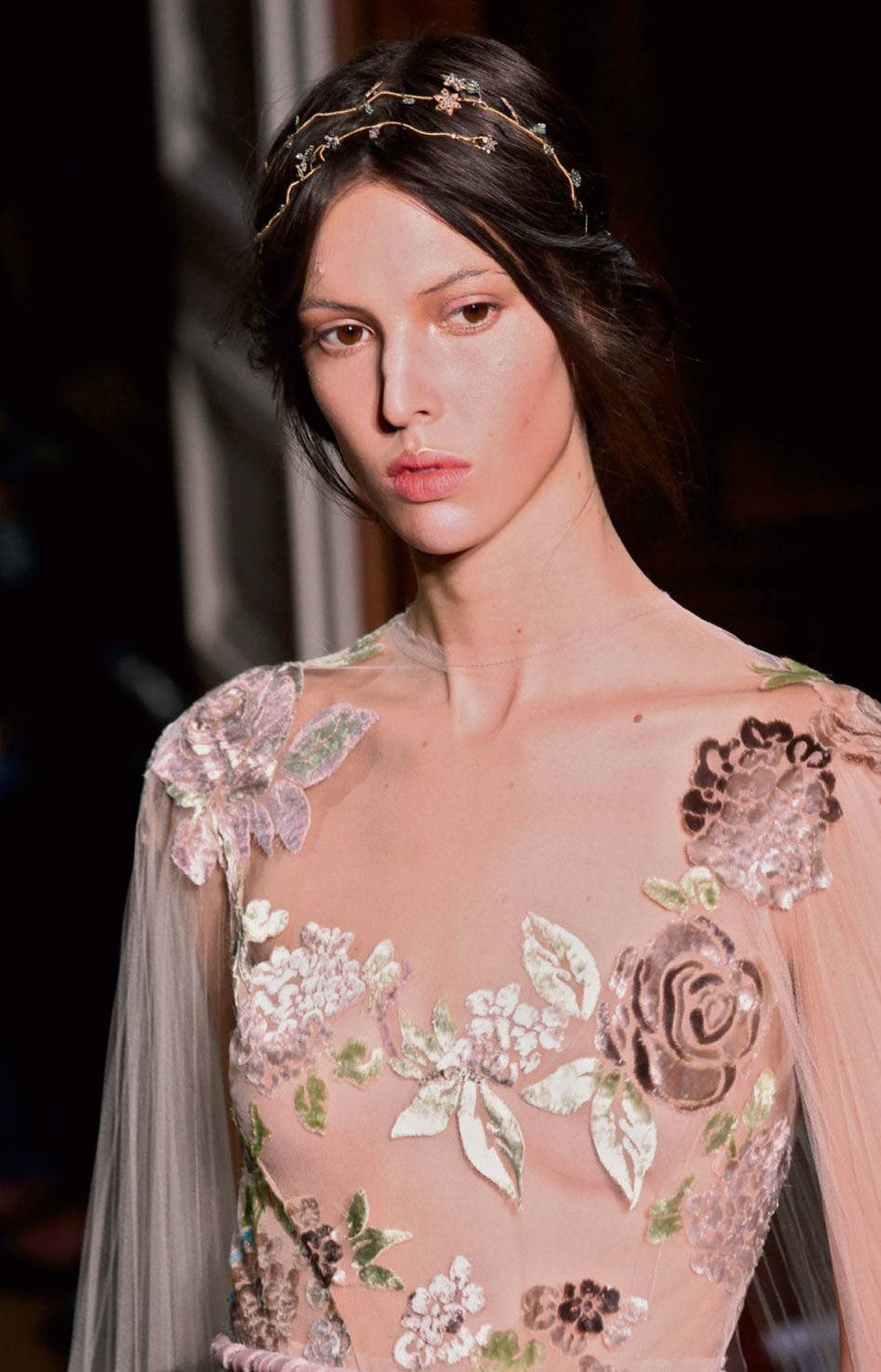 Embroidery from the Valentino 2011/12 fall couture collection.